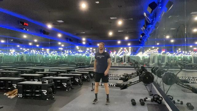 "Weights (dumbbells) | Lower Body | Coach Nadav | EMOM: ""Break a Leg"""