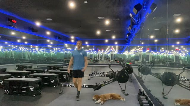 Rowing | Full Body | Coach Nadav | 8 ...