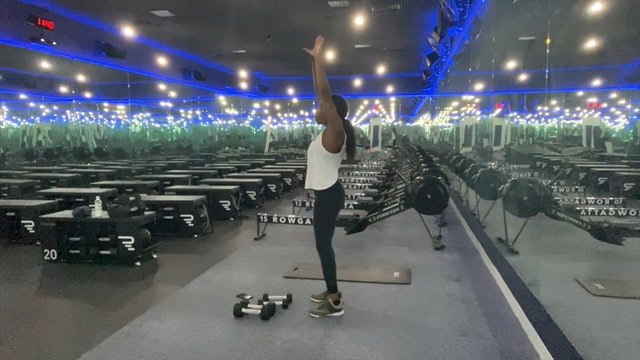 Weights (dumbbells) | Upper Body | Coach Nina | 30 minutes