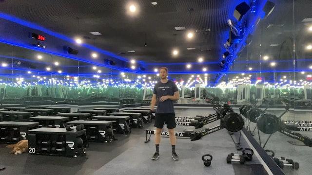 Weights (kettlebell) | Lower Body | Coach Nadav | 25 minute AMRAP
