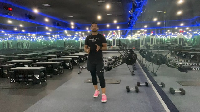 Weights (dumbbells) | Full Body | Coach Max | 23 minutes