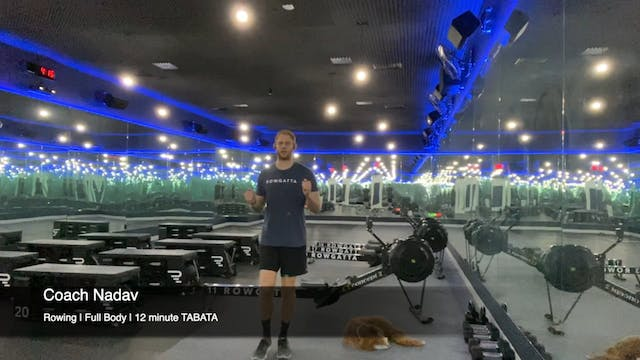 Rowing | Full Body | Coach Nadav | 12...