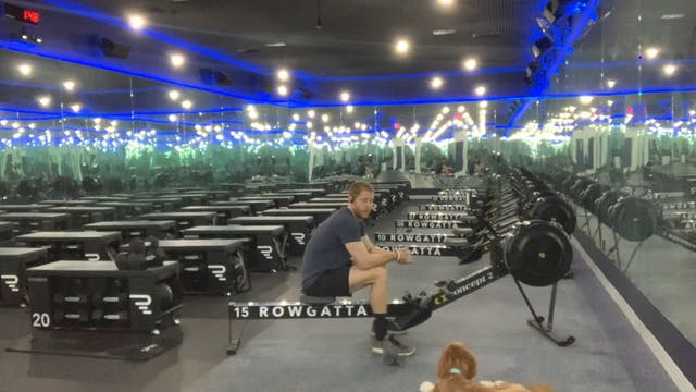 Rowing | Full Body | Coach Nadav | 15...