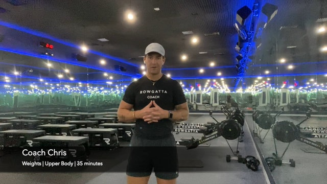 Weights (dumbbells) | Upper Body | Coach Chris | 35 minutes
