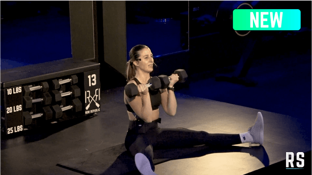 Upper Body BURN30 with Talia (Dumbbells)
