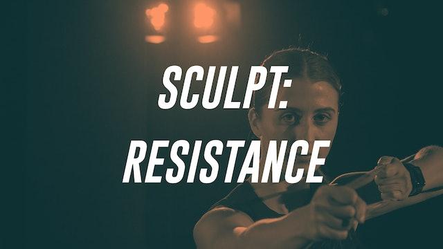SCULPT: RESISTANCE
