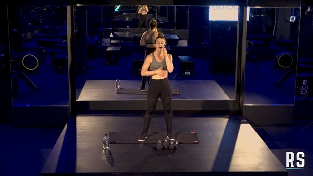 Lower Body BURN30 with Talia (Dumbbells)