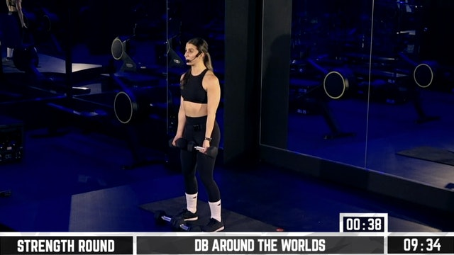 RESHAPE RIPPED Day 4: Chest and Back (Talia)