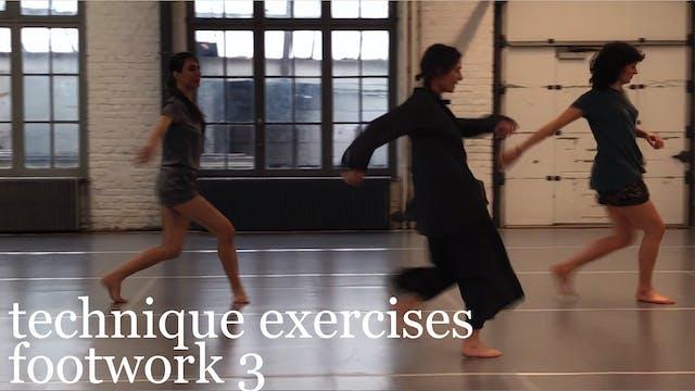 technique exercises: footwork 3