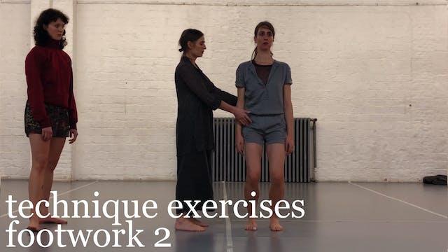 technique exercises: footwork 2