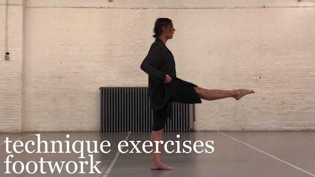 Technique Exercises: Footwork