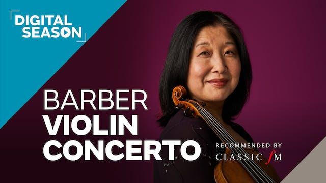 Barber Violin Concerto: Concession Ticket