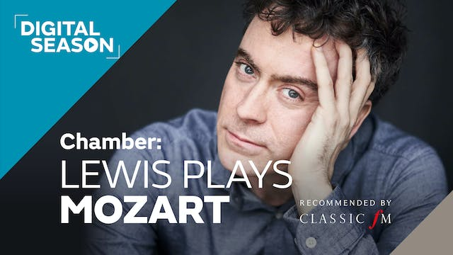 Chamber: Lewis Plays Mozart: Household Ticket