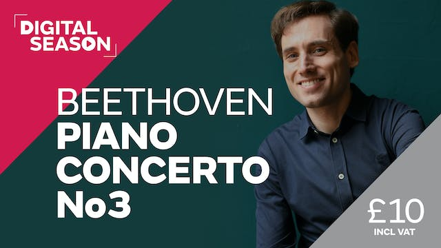 Beethoven Piano Concerto No3: Single Ticket