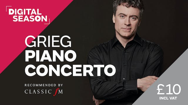 Grieg Piano Concerto: Single Ticket