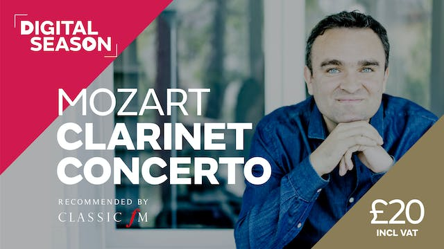 Mozart Clarinet Concerto: Household Ticket