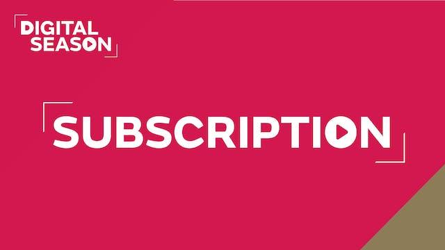 Digital Season 2020/21 Subscription