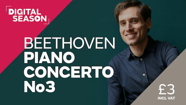 Beethoven Piano Concerto No3: Concession Ticket
