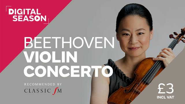 Beethoven Violin Concerto: Concession Ticket