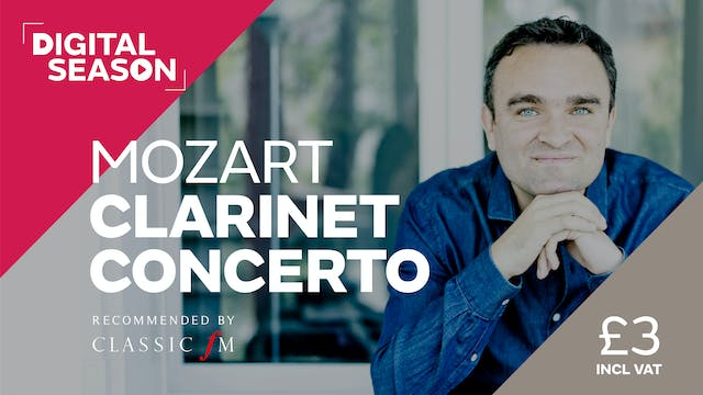 Mozart Clarinet Concerto: Concession Ticket