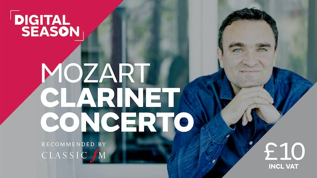Mozart Clarinet Concerto: Single Ticket