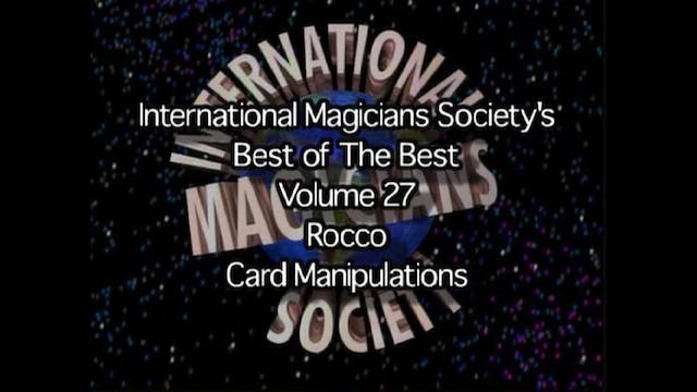 The Magic of Rocco | Card Manipulation