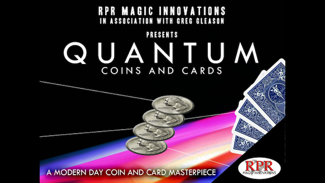 Quantum Coins+Cards+Coasters+Instructions