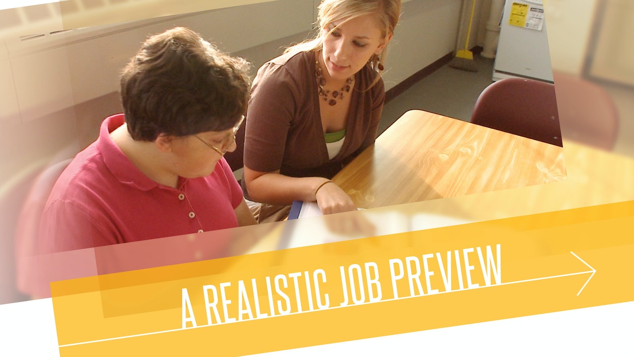 Direct Support: A Realistic Job Preview (ANCOR)