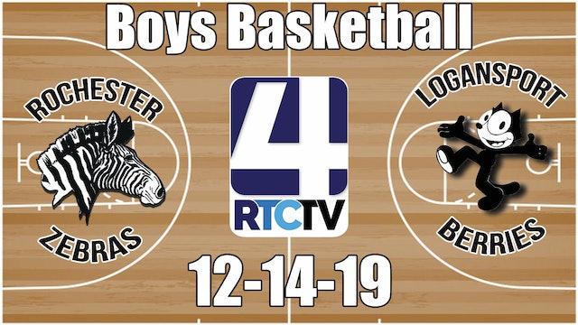 Rochester Boys Basketball vs Logansport 12-14-19