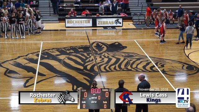 Rochester Girls Basketball vs Lewis Cass - 11-20-18