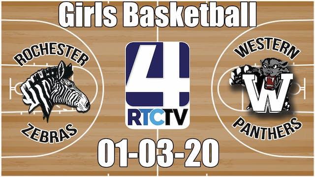 Rochester Girls Basketball vs Western...
