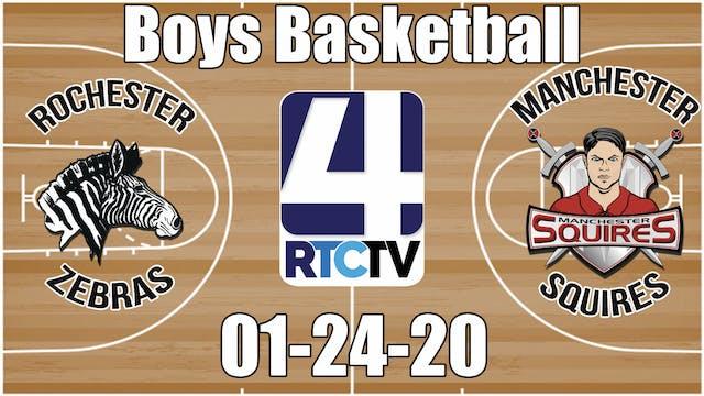 Rochester Boys Basketball vs Manchest...