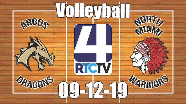 Argos Volleyball vs North Miami - 9-1...