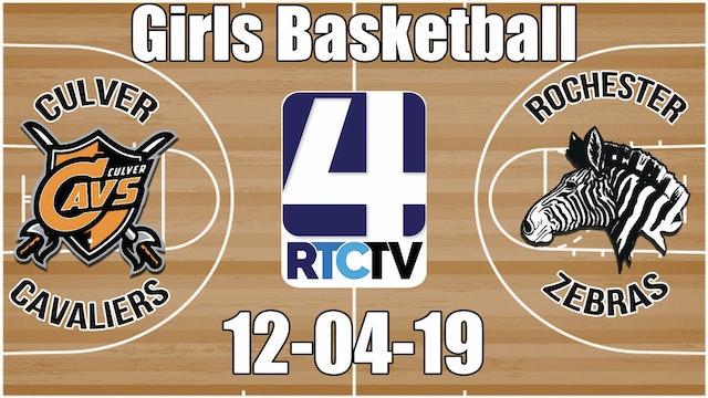 Culver Girls Basketball vs Rochester 12-4-19