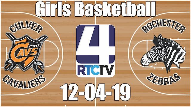 Culver Girls Basketball vs Rochester ...