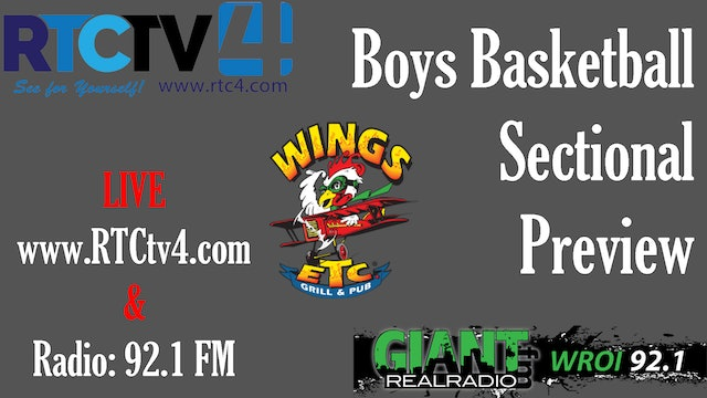 Boys Basketball Sectional Preview Show 2-24-20