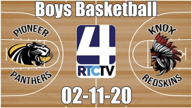Pioneer Boys Basketball vs Knox 2-11-20