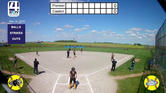 Caston Girls Softball vs Pioneer - 5-...