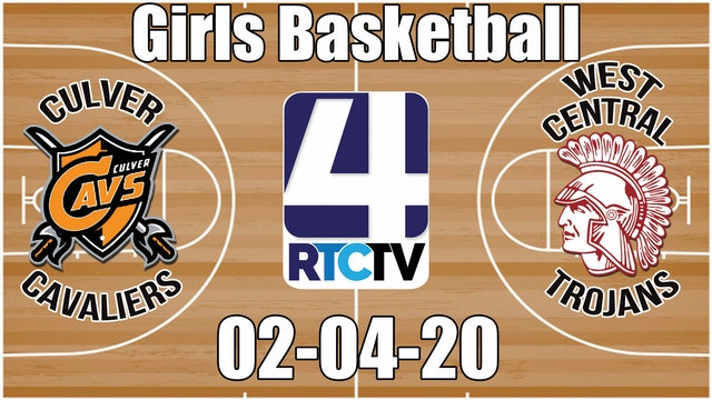 IHSAA Girls Basketball Sectional #50 Culver vs West Central 2-4-20