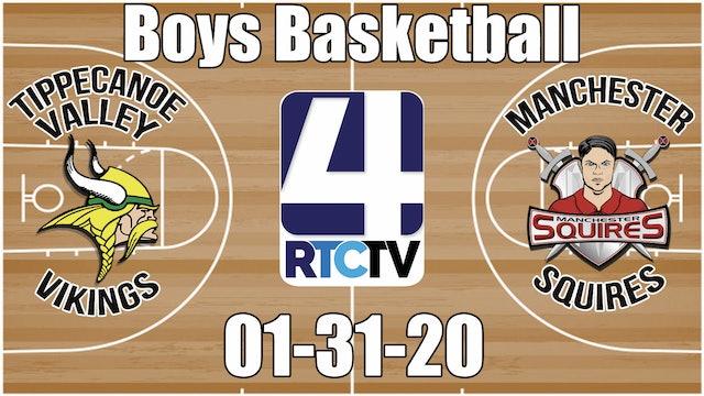 Tippecanoe Valley Boys Basketball vs Manchester 1-31-20