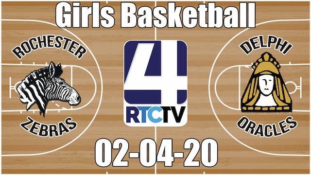 IHSAA Girls Basketball Sectional #37 Rochester vs Delphi 2-4-20