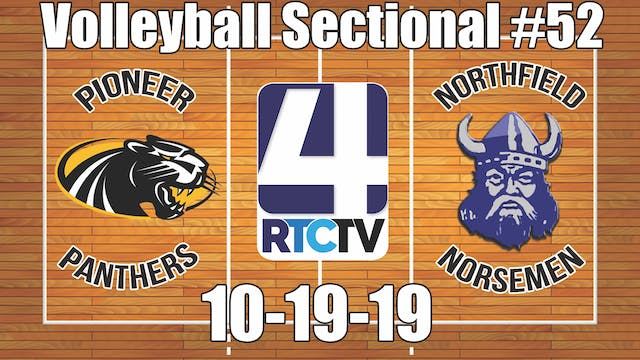 IHSAA Volleyball Sectional #52 Pionee...