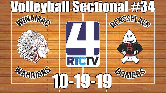 IHSAA Volleyball Sectional #34 Winama...