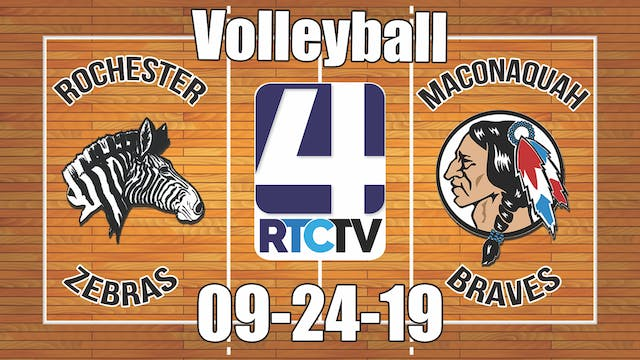 Rochester Volleyball vs Maconaquah 9-...