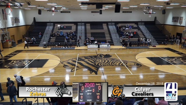 Rochester Girls Basketball vs Culver - 12-18-18