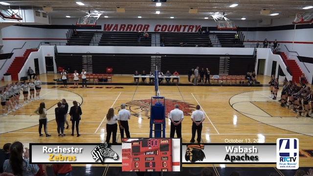 Rochester Volleyball vs Wabash 10-13-18