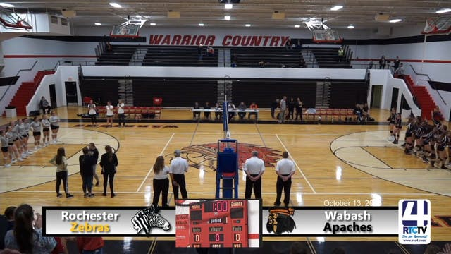 Rochester Volleyball vs Wabash 10-13-18