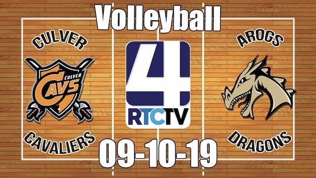 Culver Volleyball vs Argos - 9-10-19