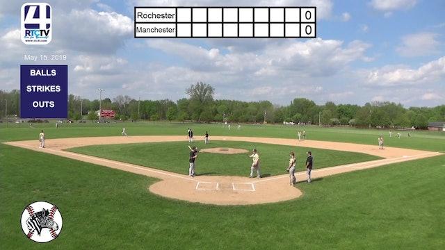 Rochester Boys Baseball vs Manchester - 5-15-19