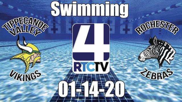Tippecanoe Valley Swimming vs Rochester - 1-14-20